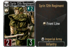 13 Syrin 12th Regiment (Imperial Army)