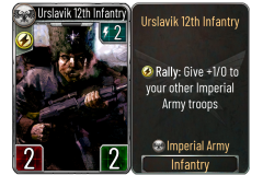 15 Urslavik 12th Infantry (Imperial Army)