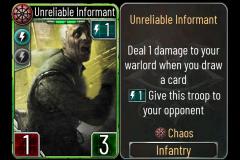 1 Unreliable Informant (Chaos)