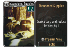 4 Abandoned Supplies (Imperial Army)