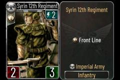 13 Syrin 12th Regiment (Imperial Army)