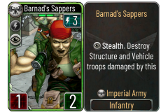 16 Barnad's Sappers (Imperial Army)