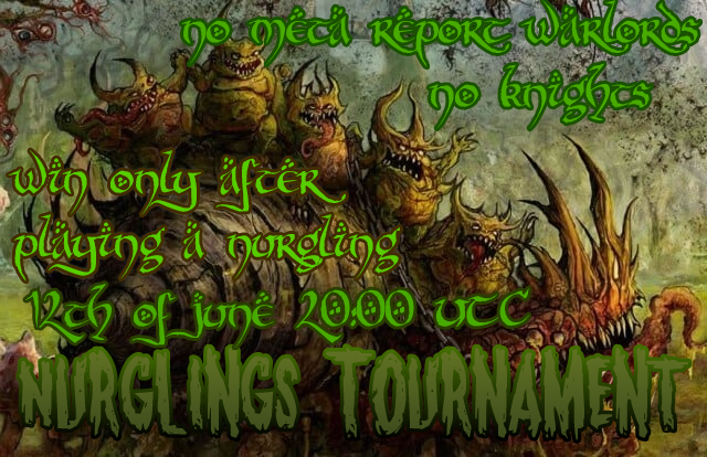 Nurglings tournament